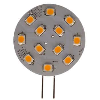 G4 Horizontal 12 LED bulb (Side Pin)
