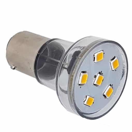 BA15D 6 LED Spotlight