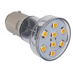 BA15D 8 LED Spotlight style bulb