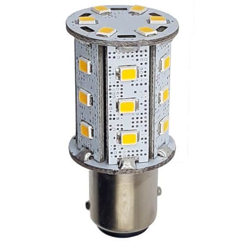 BAY15D 24 LED Tower (offset pins)