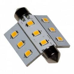 Festoon 9 LED Gull Wing bulb