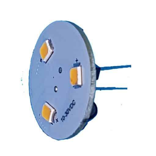 G4 Bulb Vertical (Back Pin) 3 LED