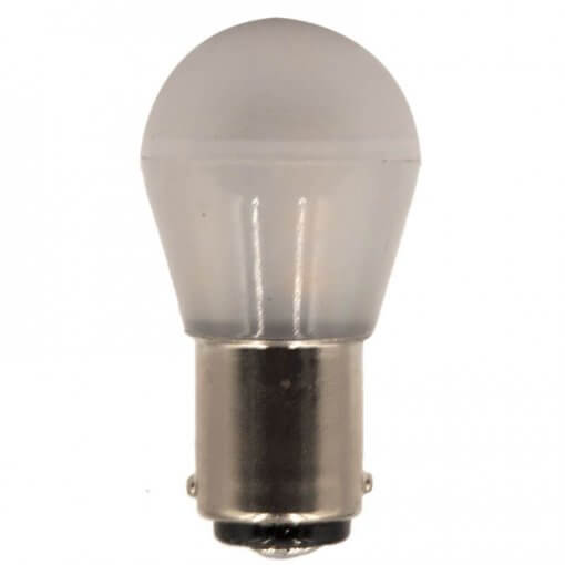 BA15D 15 LED bulb in traditional style