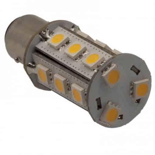 BAY15D 18 LED Tower bulb