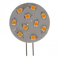 G4 Horizontal 10 LED bulb (Side Pin)