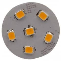 G4 Vertical 6 LED (Back Pin)