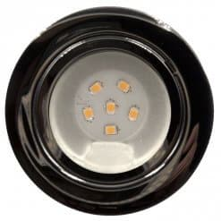 12v/24v CAB6 downlight Chrome finish with replaceable 6 LED bulb