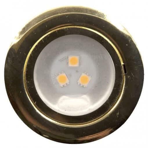 24v or 12v Recessed Ceiling Light with 3 LED