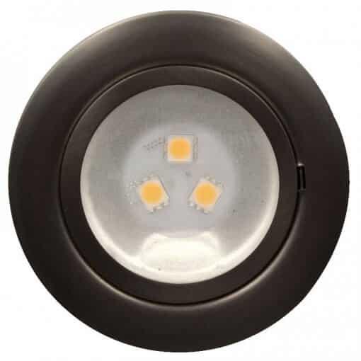 12v downlight Satin Chrome