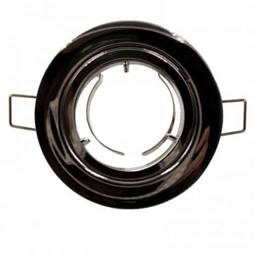 MR16 Downlight Fitting Outer Clip Style Chrome