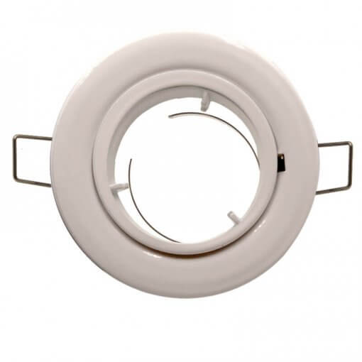MR16 Diecast Aluminium fitting White