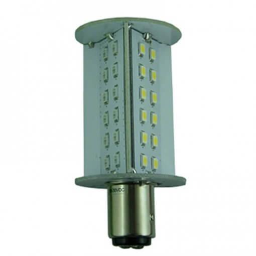 BAY15D 36 LED Tri-Light RED/WHITE/GREEN bulb for Navigation lights