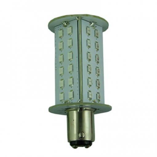 BAY15D 48 LED Bi-Light RED/GREEN Tower bulb for Navigation lights