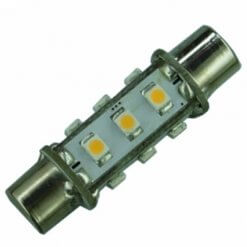 Festoon 42mm 12 LED Dimple bulb