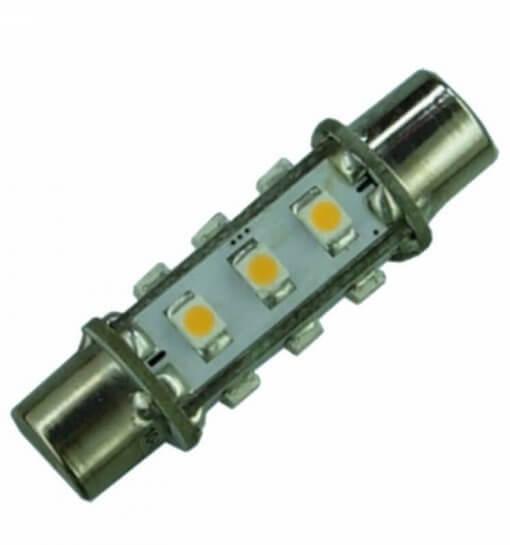 Festoon 42mm 12 LED Dimple bulb
