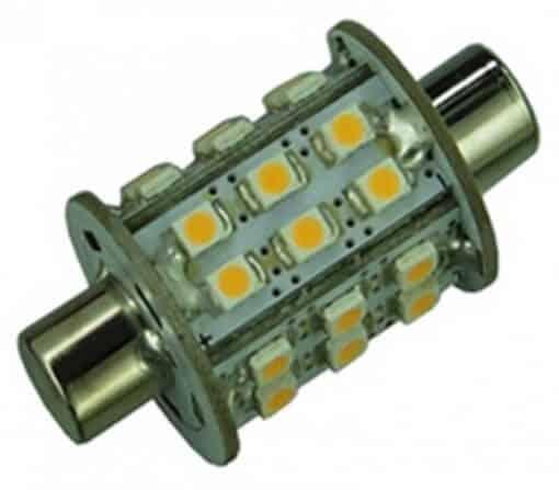 Festoon 42mm 30 LED Dimple bulb