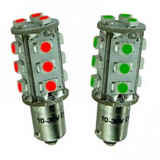 BA9S 15 LED Navigation Tower bulb