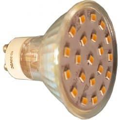 GU10 21 LED Spotlight style bulb