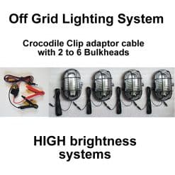 Stable Light Croc Clip System