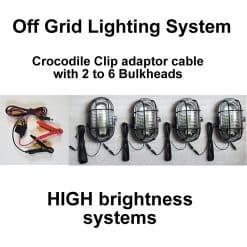 Stable Light Croc Clip System